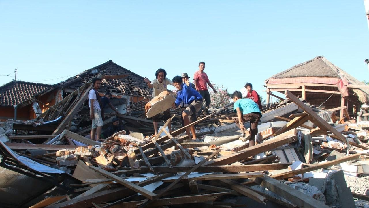 Disaster Relief – Lombok Indonesia Medical Relief & Dental Relief